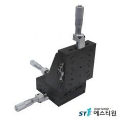[SS3V-100] 알루미늄 XYZ-Stage 100x100