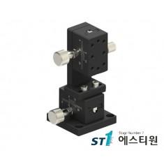 [SLWE2542] 알루미늄 랙피니언 XZ축 수직타입 (Vertical Type) 도브테일 스테이지 25X42