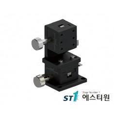 [SLWE4040] 알루미늄 랙피니언 XZ축 수직타입 (Vertical Type) 도브테일 스테이지 40X40