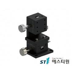 [SLWE4060] 알루미늄 랙피니언 XZ축 수직타입 (Vertical Type) 도브테일 스테이지 40X60