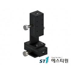 [SLWE4090] 알루미늄 랙피니언 XZ축 수직타입 (Vertical Type) 도브테일 스테이지 40X90