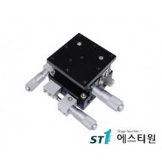 알루미늄 XYZ축(수평방향) 스테이지 80X80 [SLD80-L-2]