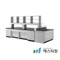 실험실 목재 시약대형 중앙실험대 [LCW-3231,37,43,49,55]
