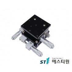 알루미늄 XYZ축 스테이지 (수평방향) 90x90 [SLD90-LM-2]
